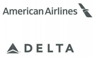 American Airlines & Delta