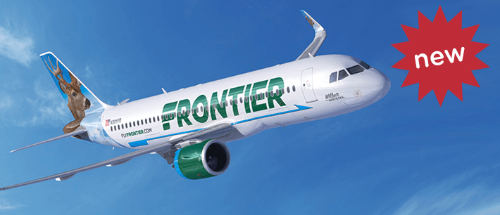 Frontier Airlines Expands Their Nonstops!